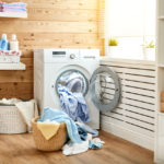 Interior,Of,A,Real,Laundry,Room,With,A,Washing,Machine